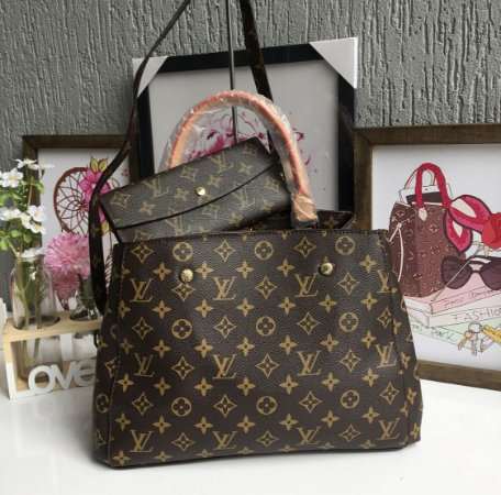536b17315 ... Carteira Louis Vuitton Monogram c/ botão - Imagem 7