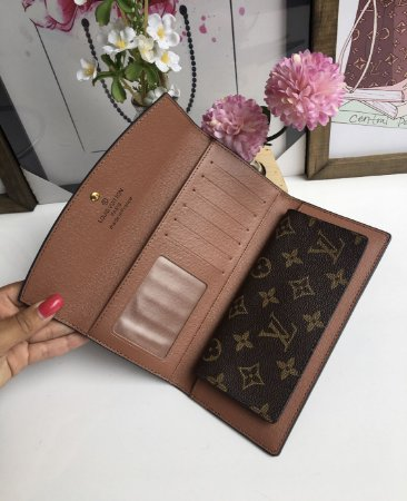 eb144aee3 ... Carteira Louis Vuitton Monogram c/ botão - Imagem 4 ...