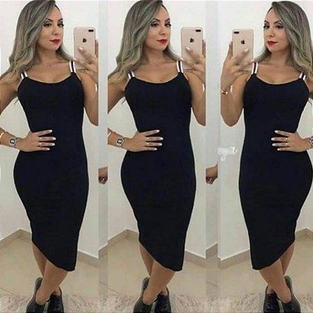 Vestido Midi Ribana