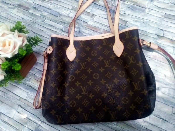 Bolsa Neverfull Monogram NM