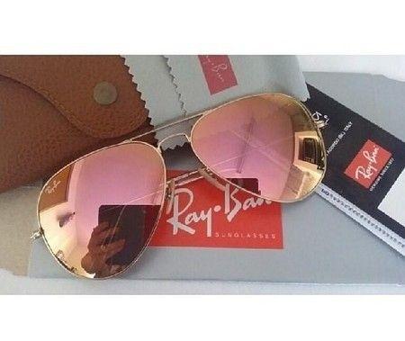 959ad5c53 Óculos Rayban Espelhado Rose - Look Store