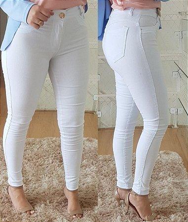 Calça Jeans Skinny Branca