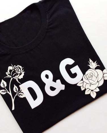 Tee D&G Flowers