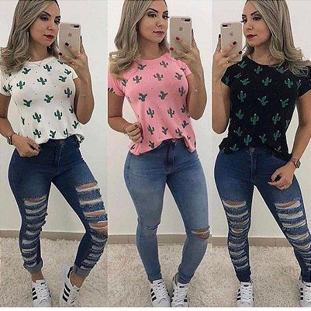 T-shirt Cactos