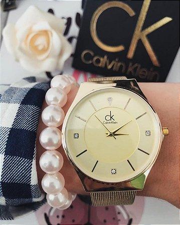 Relógio Linha Clean CK 1