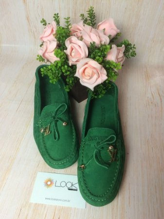Mocassim Louis Vuitton - Verde
