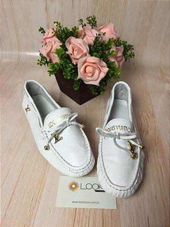 Mocassim Louis Vuitton - Branco