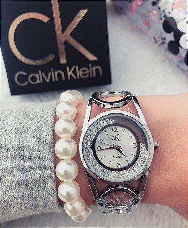 Relógio Ck luxo