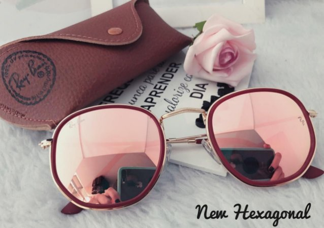 Óculos New Hexagonal