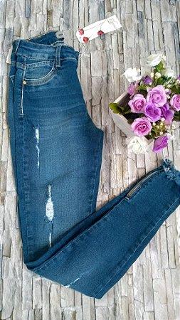 Calça Jeans Zíper