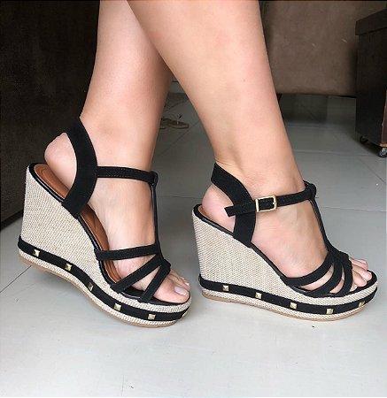 Sandália Coleção Glamour Fita