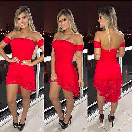 Vestido Mullet Red
