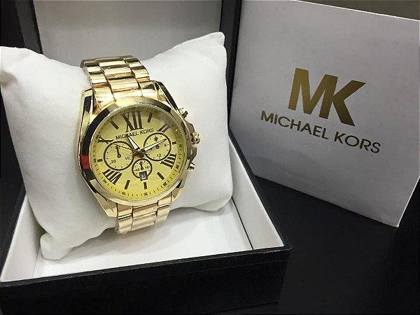 Michael Kors  - Dourado com algarismos