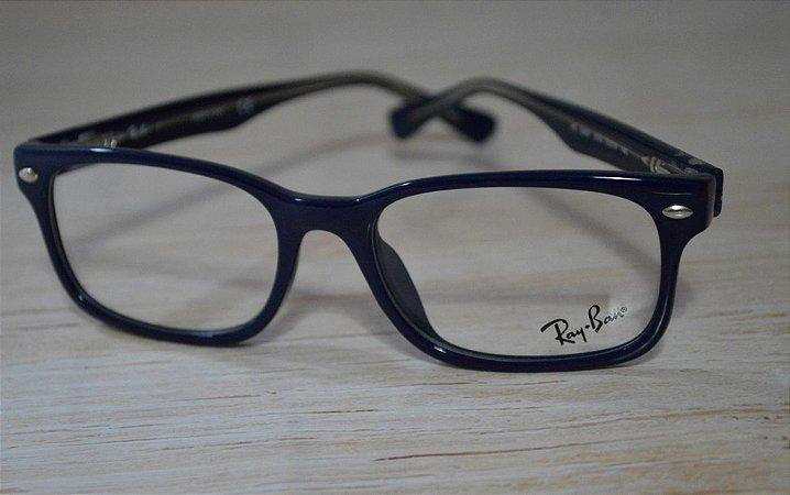 Óculos para Grau - Rayban - Azul escuro