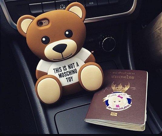 Urso Toy 3D Estilo Moschino
