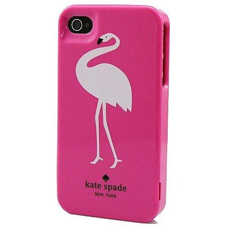 Case Kate Spade - Flamingo