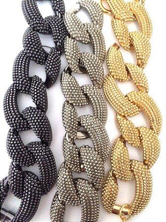 Bracelete Elos (com imâ)