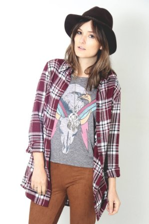 Camisa Xadrez - Manga Longa