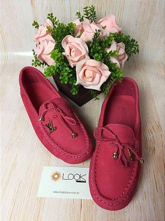 Mocassim Louis Vuitton - Rosa Chiclete
