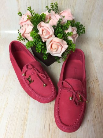 Mocassim Louis Vuitton - Rosa