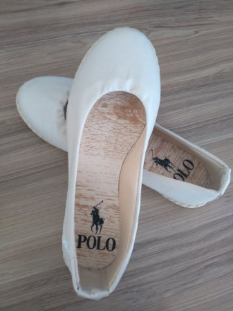 Alpargata Polo Courino Off White