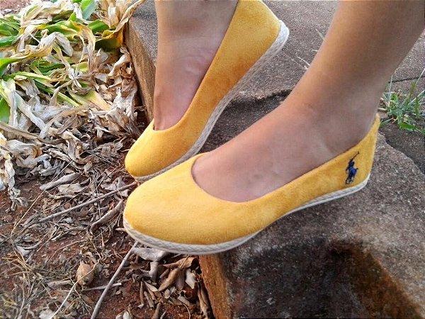 Alpargata Polo Amarela