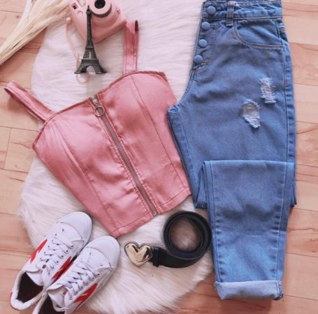 Calça Jeans Leya