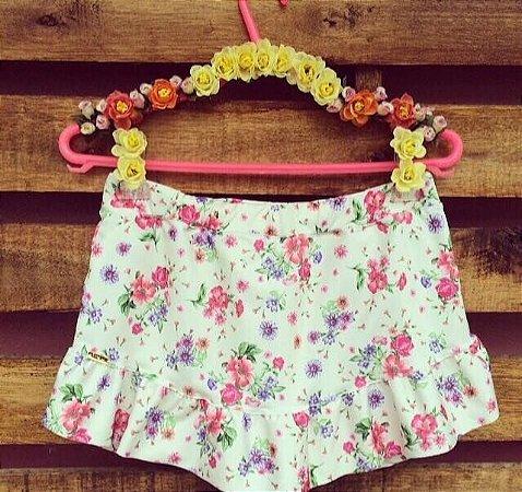 Short Saia Floral