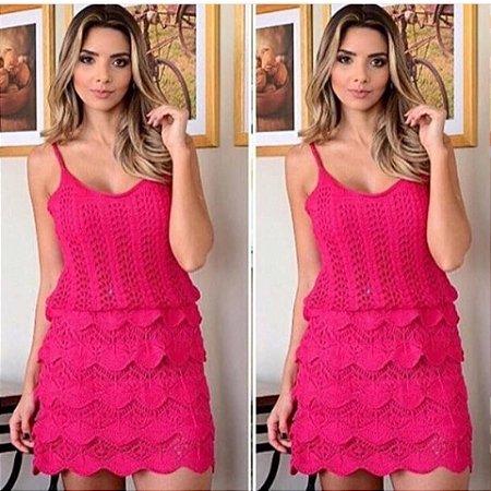 Vestido Pink Tricot