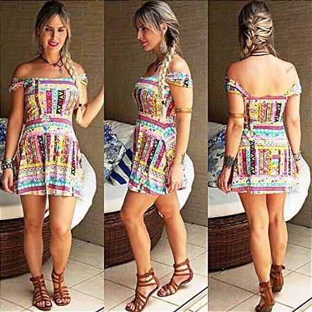 Vestido Curto Color