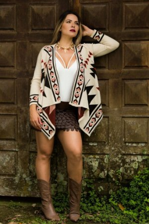 Kimono Estampa Peruana