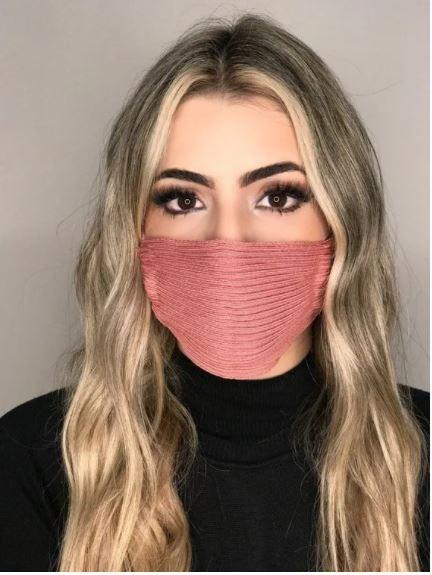 Máscara Modal Tons de Rosa e Outros