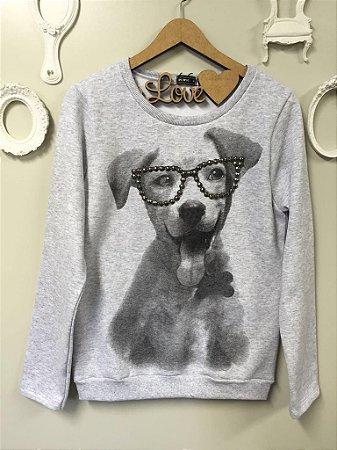 Moletom Dog Óculos