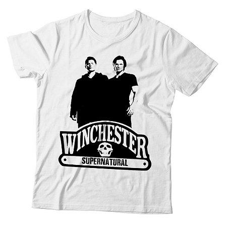 Camiseta Supernatural - Winchester