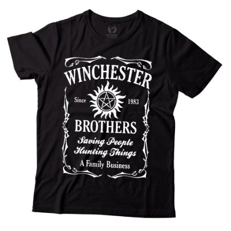 Camiseta Supernatural - Winchester Brothers