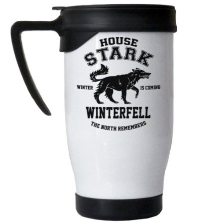 Caneca Semi Térmica Game of Thrones Winterfell