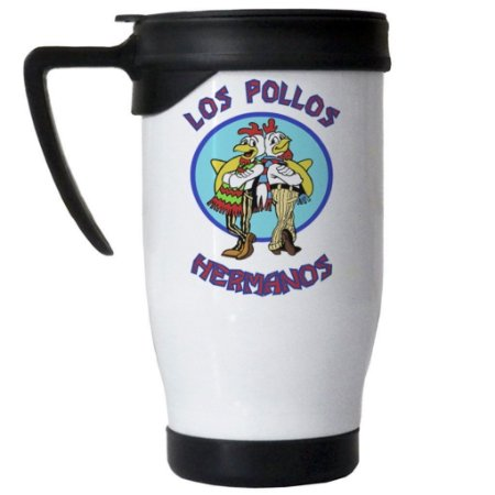 Caneca Semi Térmica Breaking Bad Pollos Hermanos
