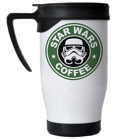 Caneca Semi Térmica Star Wars Coffee