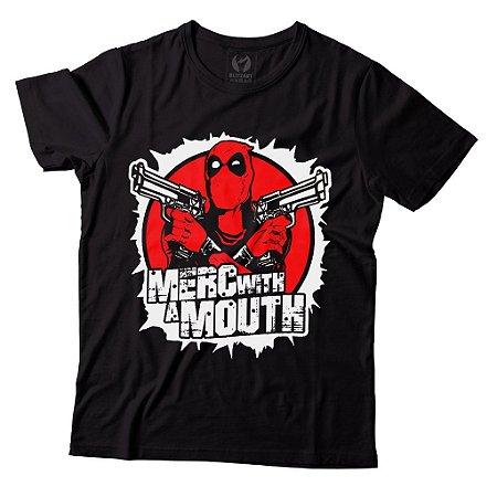 Camiseta Deadpool - Merc With a Mouth