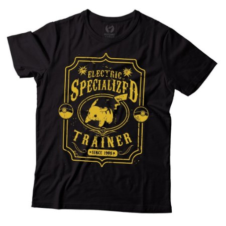 Camiseta Pokemon - Eletric Specialized