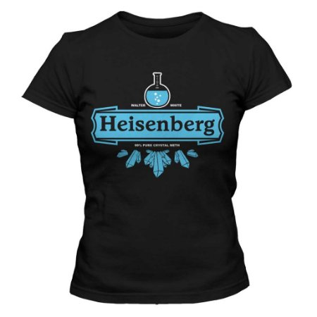 Camiseta Feminina Breaking Bad Heisenberg Crystal