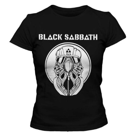Camiseta Feminina Black Sabbath - Never