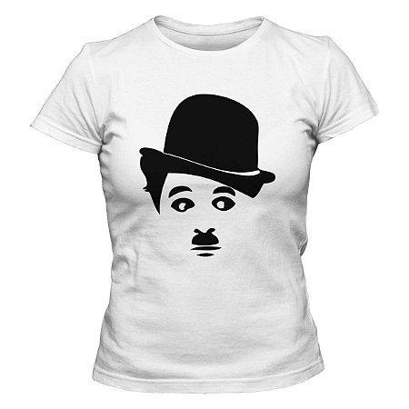 Camiseta Feminina Charles Chaplin