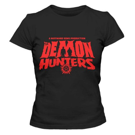 Camiseta Feminina Supernatural - Demon Hunters