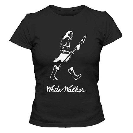 Camiseta Feminina Game of Thrones - White Walker