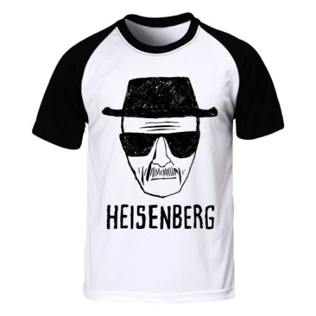a080e2f02 Camiseta Raglan Breaking Bad Heisenberg - Blitzart - Camisetas ...