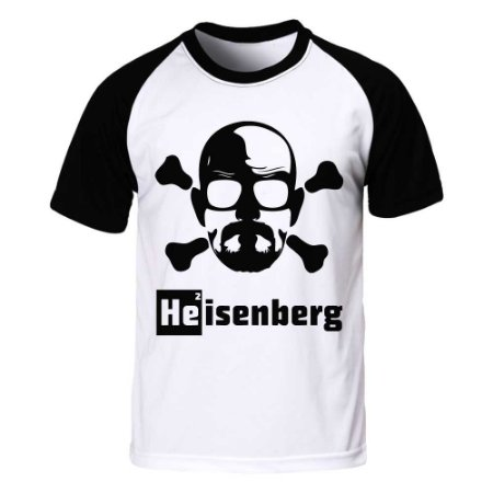 Camiseta Raglan Breaking Bad - Heisenberg Danger