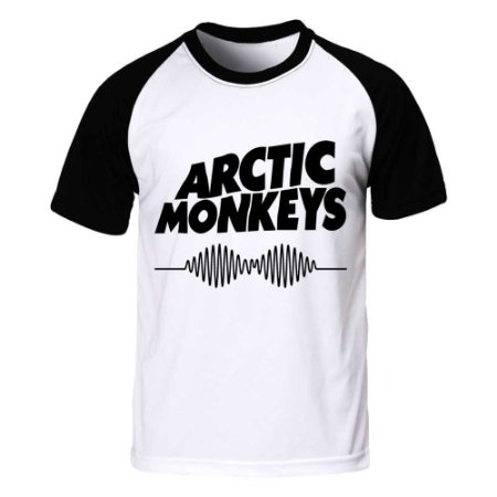 Camiseta Raglan Arctic Monkeys