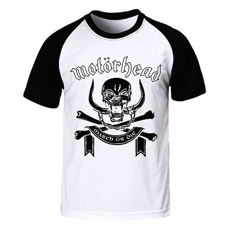 Camiseta Raglan Motörhead - March or Die