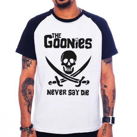 Camiseta Raglan The Goonies